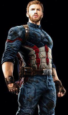 """dailyevanstan: """"Steve Rogers Look in Avengers: Infinity War (x) """""""