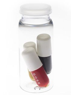 Nail polish in pill capsules? http://www.examiner.com/article/nail-polish-pill-caspules