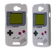 Retro Gameboy Htc One x s v Vivid Raider Amaze 4g Evo 3d Sensation XL Incredible s Desire HD s Cover Phone Game Boy Cute Cool Cheap HTC Case. $17.50, via Etsy.