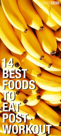 14 Best Foods To Eat Post-Workout After a workout, it's crucial you eat the proper foods to refuel and recharge your muscles. Check out 14 approved post-workout meals and snacks to keep your energy and metabolism up and give your muscles the care they need.