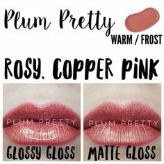 Plum Pretty Lipsense Rocking the while still looking pulled together Independent Lipsense Distributor Lip Sence, Copper And Pink, Shadow Sense, Gloss Matte, Glossier Gloss, Kissable Lips, Beautiful Lips, Short Hairstyle, Sephora Makeup