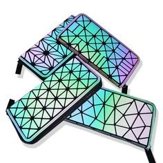 Geometric Lattice Luminous Wallet – uShopnow store