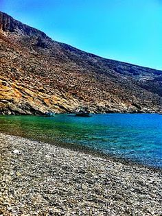Astypalaia island, Beach Kaminakia, Greece