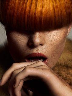 Photographer: Henrik Adamsen  Retoucher: Natalia Taffarel   Portrait - Redhead - Ginger - Photography - Pose Idea / Inspiration