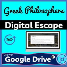 This social studies escape room has students decode facts about Greek Philosophers; Aristotle, Socrates and Plato. Each code will reveal interesting facts about Greek Philosophers. Use this activity as an introduction or as a review with your students. This activity is perfect during distance learning! #escaperoom #socialstudies #digitalescape #breakout Social Studies Activities, Classroom Activities, History Activities, Geography Activities, Teaching Resources, Escape Room, Google Drive, Shays' Rebellion, Judicial Branch