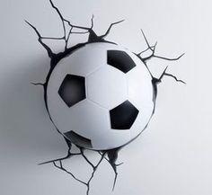Fussball deko zu hause tolle inspiration f r fu ballfans einrichtung fu ball zimmer - Fussball deko kinderzimmer ...