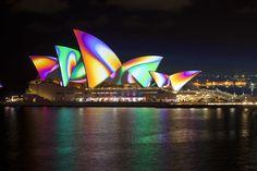 """Sydney Australia """" Vivid Sydney""""."""