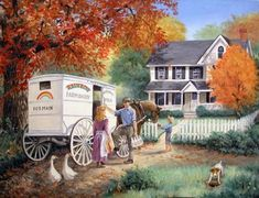 """Rainbow Farm Dairy"" ~ Linda Picken"