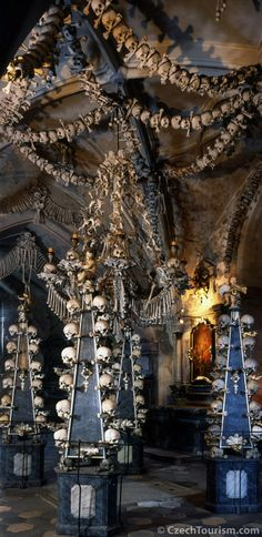 Sedlec Ossuary-Czech Republic  FLEE FROM THE WRATH TO COME. http://www.the-orb.net/textbooks/westciv/blackdeath.html