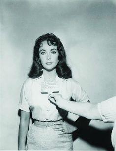 Elizabeth Taylor make-up test