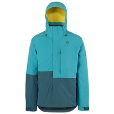Scott TERRAIN DRYO Jackets (BLU/BLU). *DRYOsphere Technology**Insulation 80g**Non Removable Lining* Nike Jacket, Rain Jacket, Insulation, Windbreaker, Athletic, Snow, Technology, Jackets, Fashion