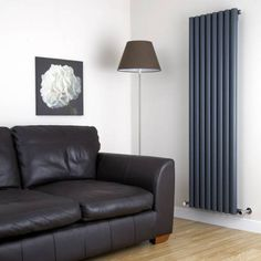 Milano Java - White Vertical Round Tube Designer Radiator x - Vertical Designer Radiators - Designer Radiators - Radiators Vertical Radiators, Column Radiators, Solid Brick, Brick And Wood, Radiator Valves, Hudson Reed, Window Types, Designer Radiator, Types Of Rooms