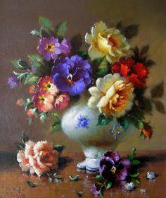 цветочный натюрморт в живописи: 13 тыс изображений найдено в Яндекс.Картинках