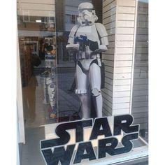 A little late for #ForceFriday #StarWars #Stormtrooper #TheForceAwakens #MayTheForceBeWithYou #ForbiddenPlanet #Croydon