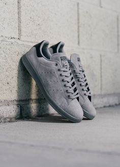 """Adidas Stan Smith """"Grey Suede"""" www.featuresneakerboutique.com Photographer: @FreakinFrancis"""