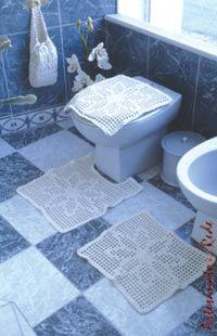 Conjunto para Banheiro   Artesanato na Rede