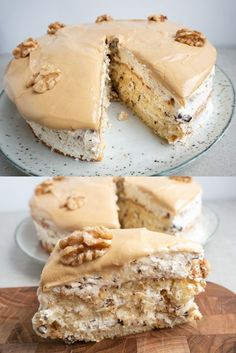 Sweet Recipes, Cake Recipes, Dessert Recipes, Island Cake, Danish Food, Pastry Cake, Dessert Drinks, How Sweet Eats, Cake Cookies