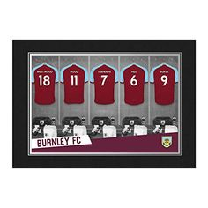 15ef01d5dd3 Burnley Fc, Football Wall, Dressing Room, Playroom, Game Room Kids,  Changing Room, Game Room, Game Rooms, Playrooms. Football icons · Buy  Football Wall Art