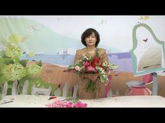 손영애 꽃과함께2- 수평형 핸드타이드 - YouTube