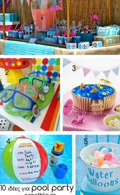 Pool Party Ideas Kids kid pool parties Cute Kids Pool Party Idea