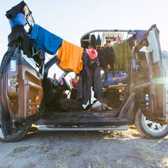 Photographer Carl Zoch isn't the type of person who becomes deeply attached to his belongings. But when he sold his things and moved into a Honda Element, the rig naturally grew on him. After all, it was home.