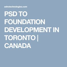 People often wonder that what is PSD TO FOUNDATION ? It is the technology that helps you if your business is ready to be presented to millions of people. Toronto Canada, Foundation, Technology, People, Design, Tecnologia, Tech, Engineering, People Illustration