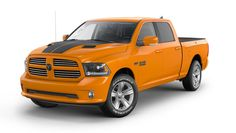 Ram has announced to offer two new special editions called the Ram 1500 Ignition Orange Sport And Black Sport. The new trucks are slated to enter production