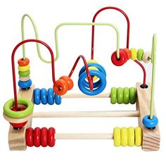 Lewo Wooden Baby Toddler Toys Circle First Bead Maze for Boys Girls * You can ge. ♡ Lewo Wooden Baby Toddler Toys Circle First Bead Maze for Boys Girls * You can get more details by clicking on the image. (This is an affiliate link) Wooden Toys For Toddlers, Toddler Toys, Toys For Boys, Kids Toys, Wooden Educational Toys, Montessori Baby Toys, Labyrinth, Toys For 1 Year Old, Baby Play