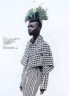 Saki W, Editorials, Black Fashion Models, Denver Rodrigues