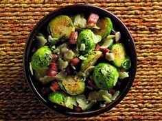 If you think that it doesn't get any better than bacony brussels sprouts, you haven't tried beery, bacony brussels sprouts. Glazing these little guys with a bottle of Stone Pale Ale adds crisp citrus notes that bring out the horseradishy sharpness of the sprouts.