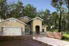 Houseplans.com Front Elevation Plan #1-1170