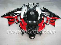 Carenado de ABS de Honda CBR600 F2 1991-1994 - Rojo/Negro/Blanco