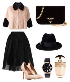 #Classy by cami-lanfranconi-cl on Polyvore featuring polyvore, fashion, style, BLANCHA, Topshop, Salvatore Ferragamo, Prada, Gucci and clothing