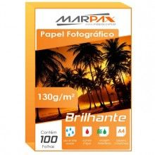 Papel Foto Glossy Paper 130g/m² A4
