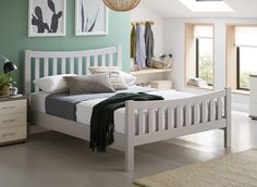 Box springHome affaire box spring bed Nele incl topper in a simple design Home AffaireHome AffaireBox spring beds with bed boxMenota box spring bed with bed box, solid wooden frame and cover in vintage look - 180 x 200 cmSherwood Gray Wooden Bed Frame High Bed Frame, Steel Bed Frame, Platform Bed Frame, Grey Wooden Bed Frame, Reclaimed Wood Bed Frame, California King, Diy Bed Risers, Build Bed Frame, Bed Weather