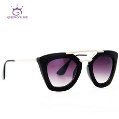 One of the hottest styles for womens sunglasses right now! Get your while they last!  Item Type: EyewearEyewear Type: SunglassesDepartment Name: AdultBrand Name: Queen CollegeGender: WomenStyle: ButterflyLenses Optical Attribute: MirrorFrame Material: PlasticFrame Color: MultiLens Width: 4.7 cmLens Height: 4.1 cmLenses Material: PolycarbonateModel Number: QC0132is_customized: Yes | Shop this product here: spreesy.com/destinationbaby/376 | Shop all of our products at…