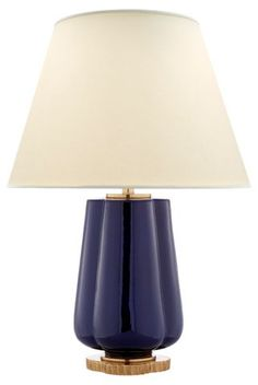 Eloise Two-Bulb Table Lamp, Denim