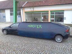 Mazda 323 #monster