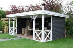 Beautiful porch by Jan de Boer tuinhuizen