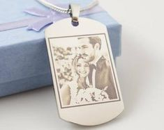 Personalized Gifts by PZGifts Photo Engraving, I Sent You, Half Dollar, Ball Chain, Gift For Lover, Personalized Jewelry, As You Like, Gift Bags, Fathers Day Gifts