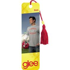 Finn Hudson, the popular and handsome high school quarterback, is one of the two true talents in the Glee club—and a fan favorite. This Collector's Edition Bookmark features graphics from Glee. 4-color printing on sturdy card stock, decorative beads, silky tassel.  $3.99  http://www.calendars.com/Drama-TV/Glee-Finn-Bookmark/prod201100012244/?categoryId=cat00066=cat00066#