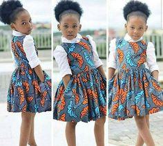 African Print Kid's Dress – Kid's Full Flared Dress- Ankara Print – Ankara Dress – Handmade – Africa Clothing – African Fashion – Mahiber Ankara Styles For Kids, African Dresses For Kids, African Children, African Print Dresses, African Print Fashion, African Fashion Dresses, African Attire, African Wear, Africa Fashion