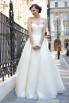 stephanie allin 2014 allie wedding dress front