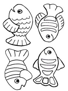 free creation coloring page fish