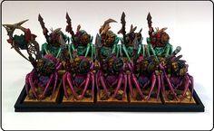 Chumley Warner's Empire. Forest Goblin Spider Riders ! Booo