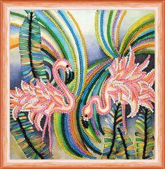 Розовые фламинго AM-148