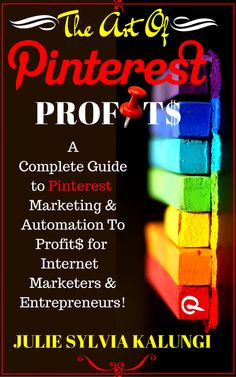 Is Pinterest helping you get on Google's Top organic search results for your key words? if No, then You Need this Book. Join our Pinterest Party to learn more. http://juleskalpauli.com/the-art-of-pinterest-profits-celebration/