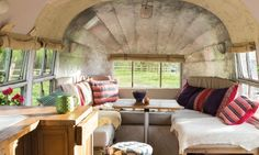 Couple convert vintage 1954 Airstream into a dream home on wheels Mark and Charlotte Mabon Airstream Renovation – Inhabitat - Green Design, Innovation, Architecture, Green Building