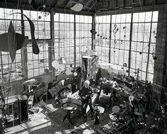 Alexander Calder's Studio