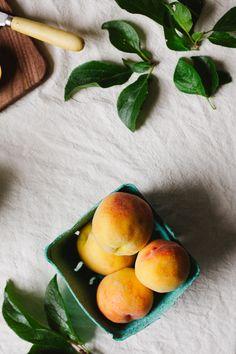 Summer #Peach Tart with Vegan Mascarpone